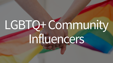 LGBTQ+ Community Influencers   LivingReports